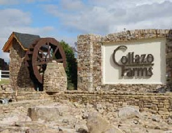 Collazon Farm Entrance  TN  8ft Waterwheel Factory