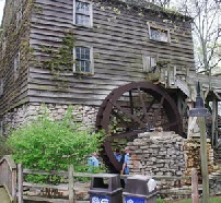 Cedar Point Amusement Park OH 14ft Waterwheel Factory