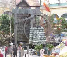 Bellagio Hotel Las Vagas  15ft Waterwheel Factory