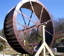 Dollywood Splashworld TN  12ft Waterwheel Factory