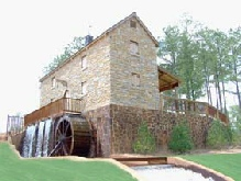 Bobby Jones Golf Resort AL 12ft Waterwheel Factory